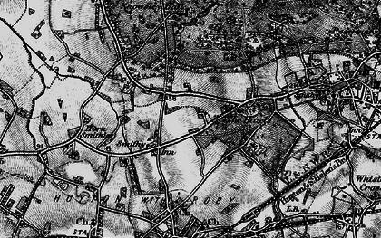 Old map of Longview in 1896