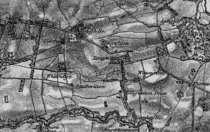 Old map of Whitridge in 1897