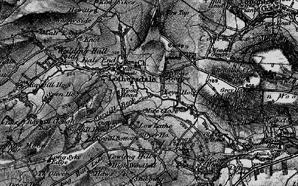Old map of Leys Ho in 1898