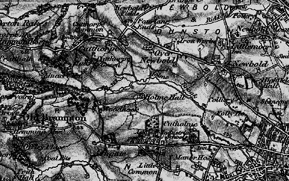 Old map of Loundsley Green in 1896