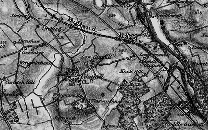 Old map of Wrayside in 1897
