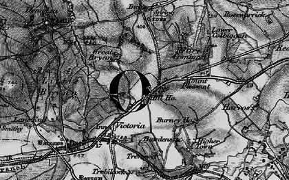 Old map of Lower Brynn in 1895
