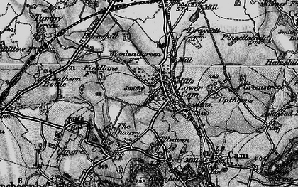 Old map of Lower Cam in 1897