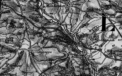 Old map of Lower Clicker in 1896