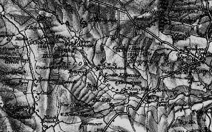 Old map of Averhill Side in 1897