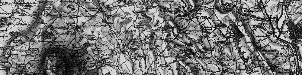 Old map of Winterburn Brook in 1899