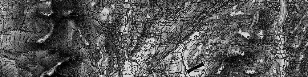 Old map of Whineray Ground in 1897
