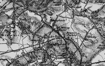 Old map of Lower Midway in 1895