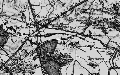 Old map of Kinsale in 1897