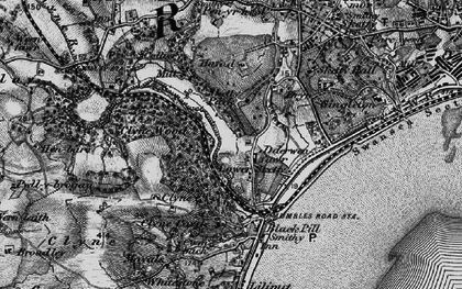 Old map of Lower Sketty in 1897