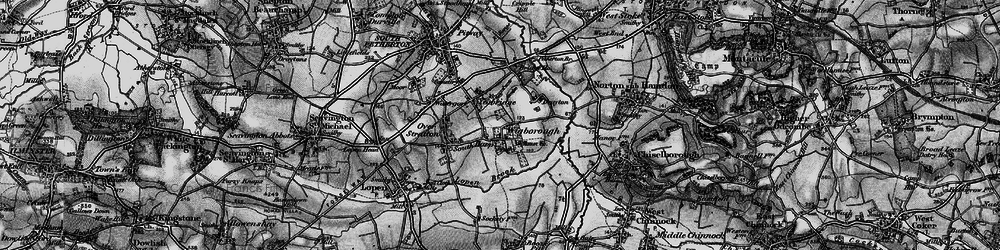 Old map of Wigborough Manor in 1898