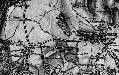 Old map of Zeals Ho in 1898