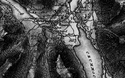 Old map of Loweswater in 1897