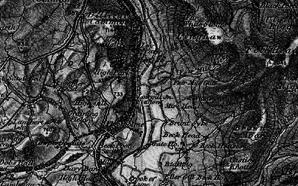 Old map of Linghaw in 1897