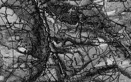 Old map of Aikengill in 1898