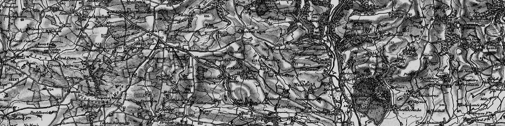 Old map of Windbow in 1898