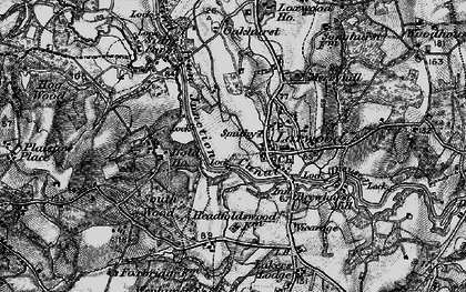 Old map of Loxwood in 1895