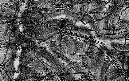 Old map of Widgerly Down in 1898