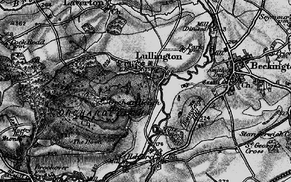 Old map of Lullington in 1898