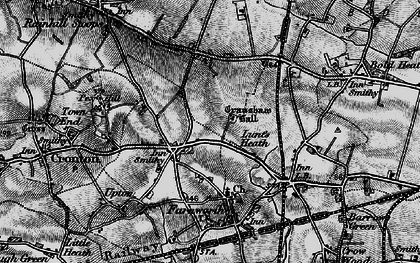 Old map of Wilmere Ho in 1896
