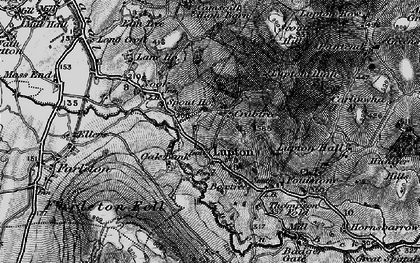 Old map of Badger Gate in 1898