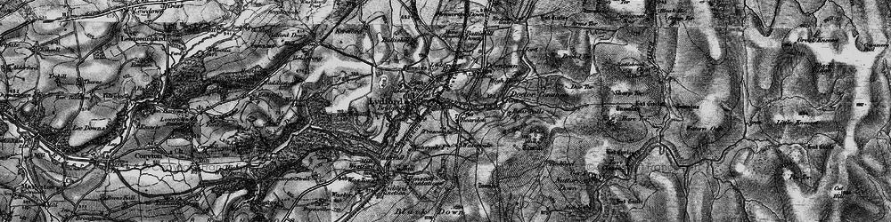 Old map of Willsworthy Range in 1898