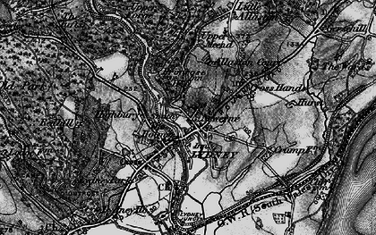 Old map of Lydney in 1897