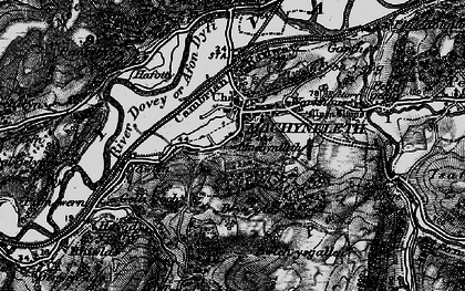 Old map of Machynlleth in 1899
