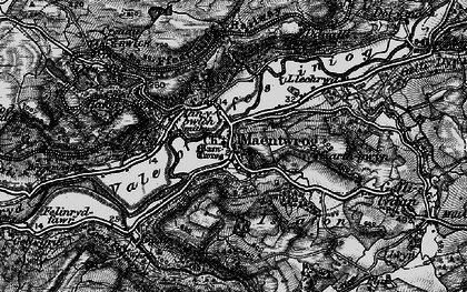 Old map of Maentwrog in 1899