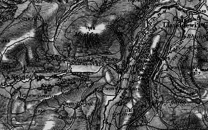 Old map of Allt Cynhelyg in 1898