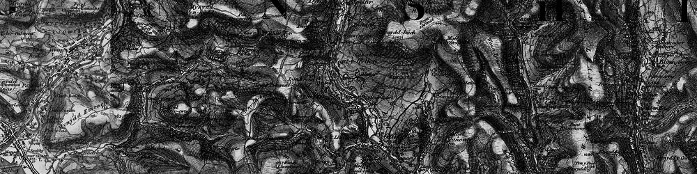 Old map of Maesteg in 1897