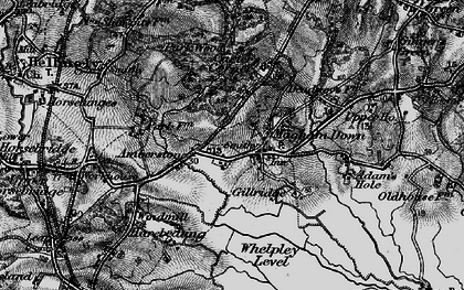 Old map of Whelpley Level in 1895
