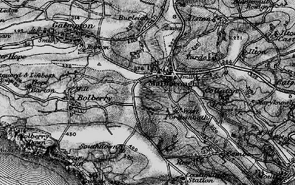 Old map of Malborough in 1897