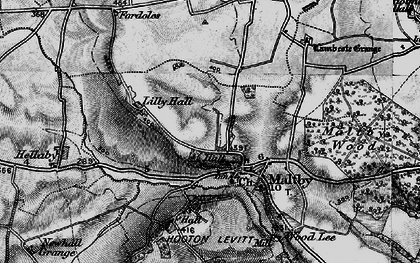 Old map of Maltby in 1895
