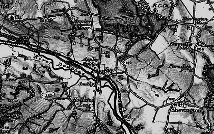 Old map of Appley Bridge in 1896