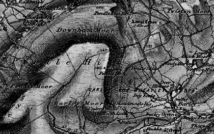 Old map of Beacon in 1898