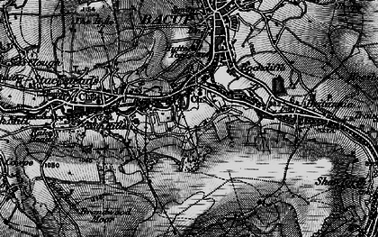 Old map of Belgrave in 1896