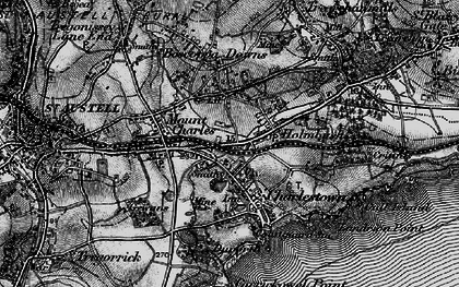 Old map of Bethel in 1895
