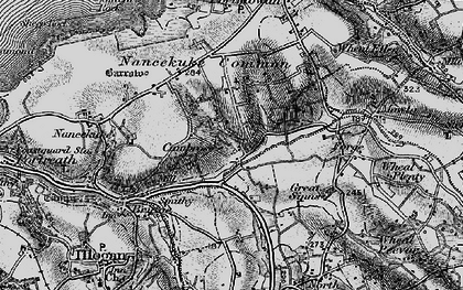 Old map of Cambrose in 1896