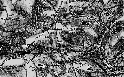 Old map of Dobwalls in 1896