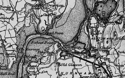 Old map of Glasson in 1898