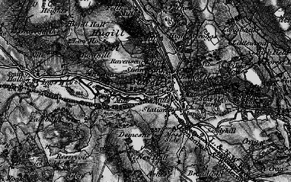 Old map of Staveley in 1897