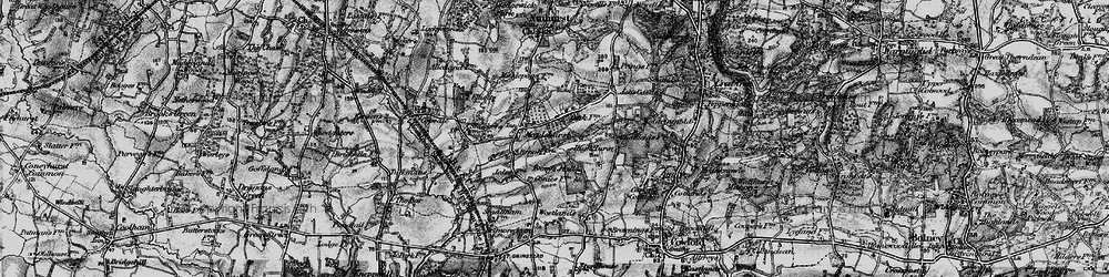 Old map of Woldringfold in 1895