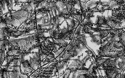 Old map of Marehay in 1895