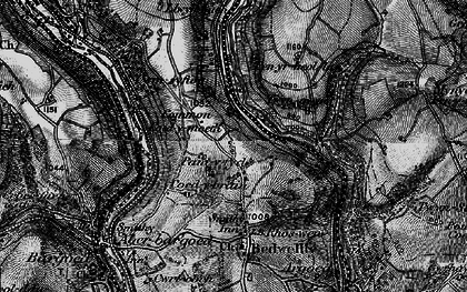 Old map of Markham in 1897