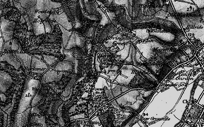 Old map of Marlow Common in 1895