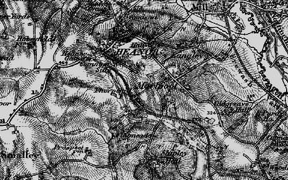 Old map of Marlpool in 1895