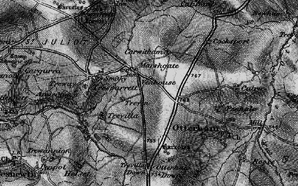 Old map of Marshgate in 1895