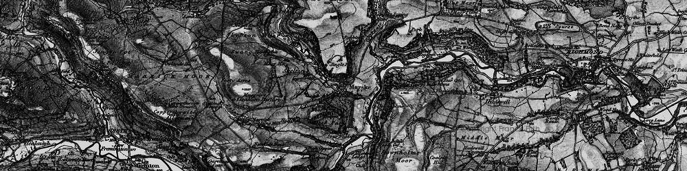 Old map of Marske in 1897