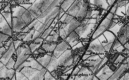Old map of Appleton Manor in 1895